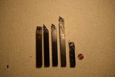 Sandvik Coroturn 107 Kennametal Lathe Turning Tool Holders 0.625 Shank Lot Of 5