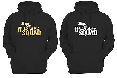 Disney squad Hoodie Disney Hoodies Mickey and Minnie Head Custom Disney Trip