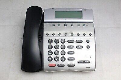 Lot Of 10 Nec Dth-8d Dterm 80 Black 8-button Digital Display Office Phones