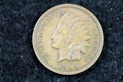 Estate Find 1909 - Indian Head Cent J01237 - $4.00