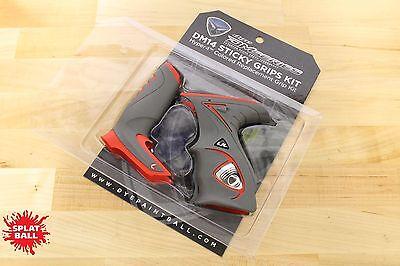 Dye DM14 Grip Kit - Red/Grey - NEW - FREE Shipping!