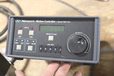 Newport Model Pmc100 Industrial Digital Single Axis Motion Controller