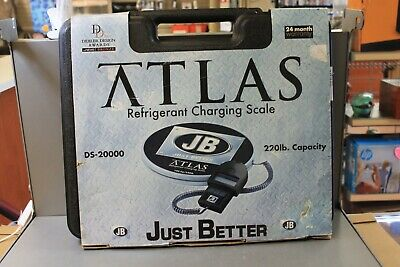 Jb Atlas Ds-20000 Digital Refrigerant Electronic Scale