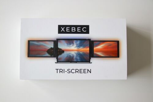 Xebec Tri-Screen Monitors - INSTANTLY ADD TWO SCREENS TO ANY LAPTOP