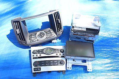 2008 INFINITI G37 TYPE S COUPE OEM NAVIGATION MEDIA CONSOLE ASSY V36 VQ37 #7071