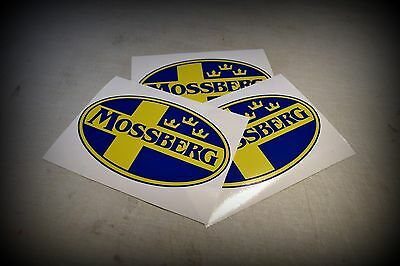 Mossberg Gun Logo Vinyl Sticker Decal Multi color 500 tactical **FREE SHIPPING**