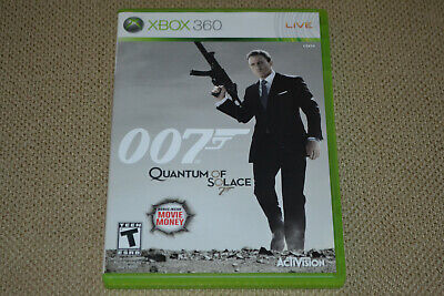 James Bond 007: Quantum of Solace (Microsoft Xbox 360, 2008) Complete Fast Ship