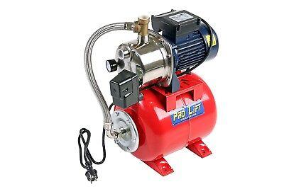 Hauswasserwerk Hauswasserversorgung 1,1kW 3600l/h Edelstahlgehäuse 230V 02356 - Wasser-steckdose Gehäuse