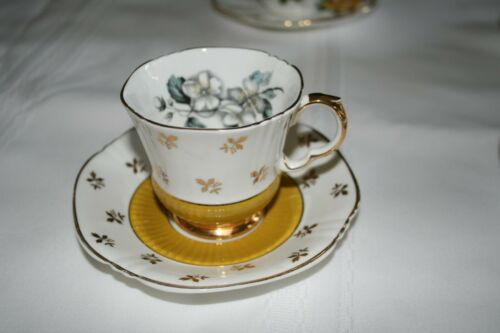 Vintage Teacup and Saucer - Royal Adderley - Bone China