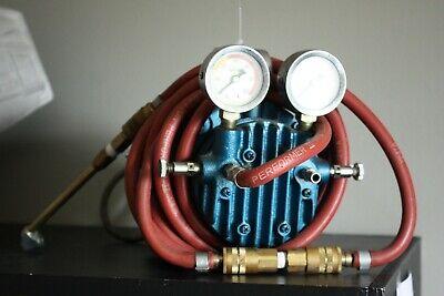 Millipore Xx6000000 Rotary Vane Portable Vacuum Pump With Ge Motor