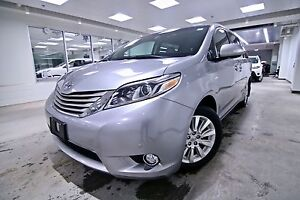 2016 Toyota Sienna XLE,AWD,LEATHER,NAVIGATION,ALLOYS,BACK UP CAM