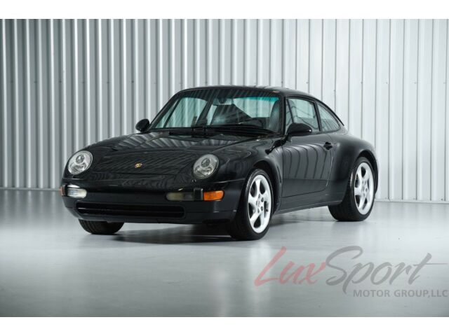 1996 Porsche 993 Carrera 2 Coupe Black/Black 6-Speed Only 17,000 Miles! Pristine