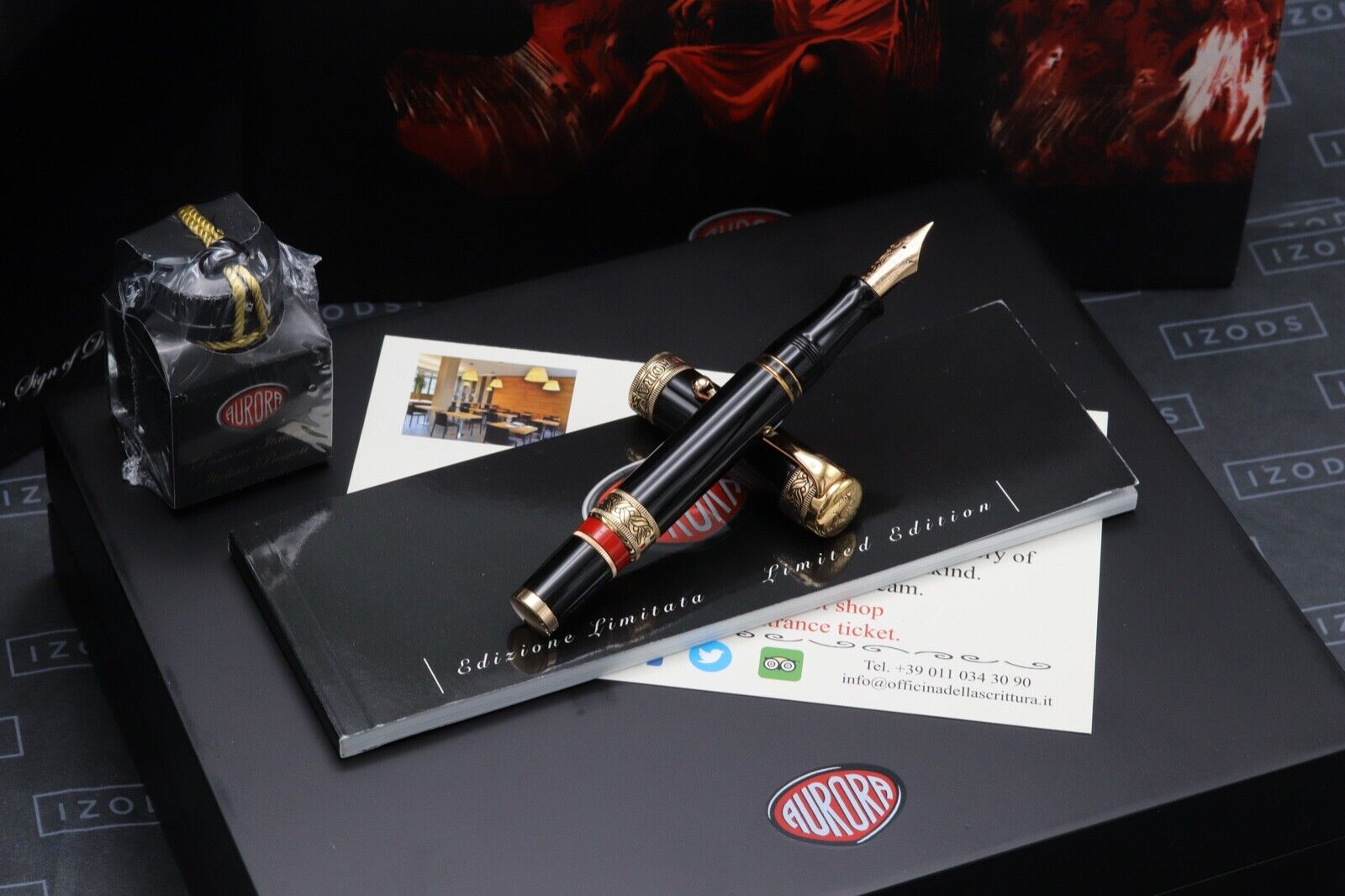 Aurora Dante Inferno Limited Edition Fountain Pen