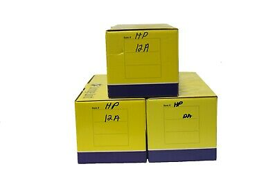 Lot of 3 Cartridge World Generic 12A Toner Cartridges For HP LaserJet  for sale  Shipping to India