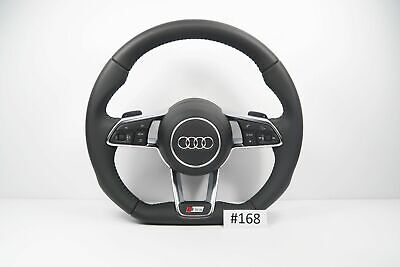AUDI S LINE A4 S4 A5 S5 RS5 SQ5 FLAT BOTTOM SHIFT PADDLES STEERING WHEEL (#168)