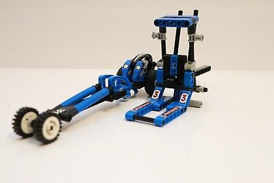 8238 Technic Dueling Dragsters Lego