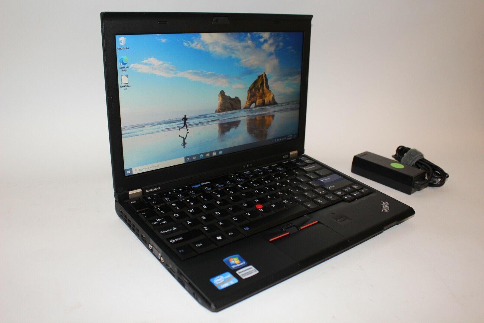 "Laptop Windows - Lenovo Thinkpad X220 Core i5 12.5"" Windows 10 Pro Laptop 120GB SSD 4GB Bluetooth"