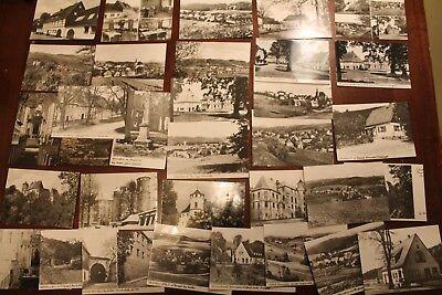 29254 33 Fotos AK mit Motiven von Bärenstein im Erzgebirge aus DDR-Zeit
