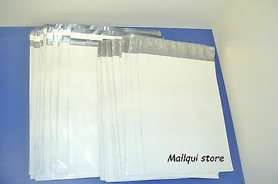 20 Mailer 24x24 And 19x24 White Poly Mailing Envelope Shipping Bags - 2.5 Mil