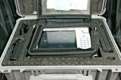 ANRITSU S361E SITEMASTER USA INCLUDES SOFT & HARD CASE ALONG WITH ATTACHMENTS