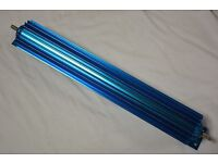 "18/"" Aluminum Dual Pass Finned Transmission Cooler trans 700R4 4L60E C4 C6 727"