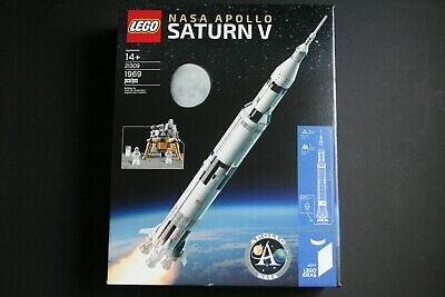 LEGO Ideas NASA Apollo Saturn V Rocket 21309 NEW & SEALED Building Kit