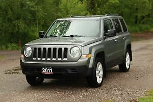 2011 Jeep Patriot Sport/North   4x4   ONLY 57K   CERTIFIED