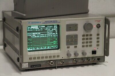 Motorola R2670 Fdma Digital Communications Service Monitor Analyzer