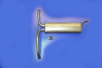 CITROEN C1 PEUGEOT 107 TOYOTA AYGO EXHAUST REAR SILENCER BACK BOX CN549J + Clamp