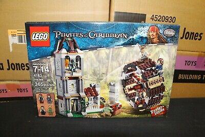 NEW Sealed Box! LEGO 4183 POTC Pirates of the Caribbean Mill FREE Priority Mail!
