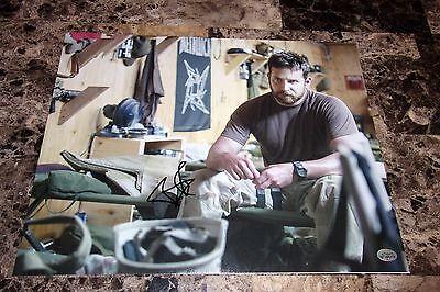 Bradley Cooper Rare Signed 11X14 Photo American Sniper Chris Kyle Military Coa