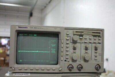 Tektronix Tds360 Digital Oscilloscope 200mhz1gss 2 Ch.