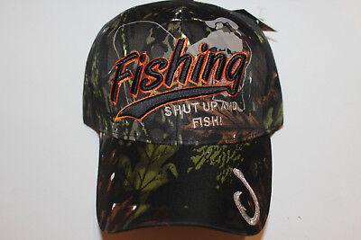 Anglerkappe Cap Kappe Mütze Camouflage Fishing Angler Mütze Angeln # 99