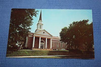 Vintage Postcard Dickinson College, Carlisle, Pa., College Chapel & Methodist