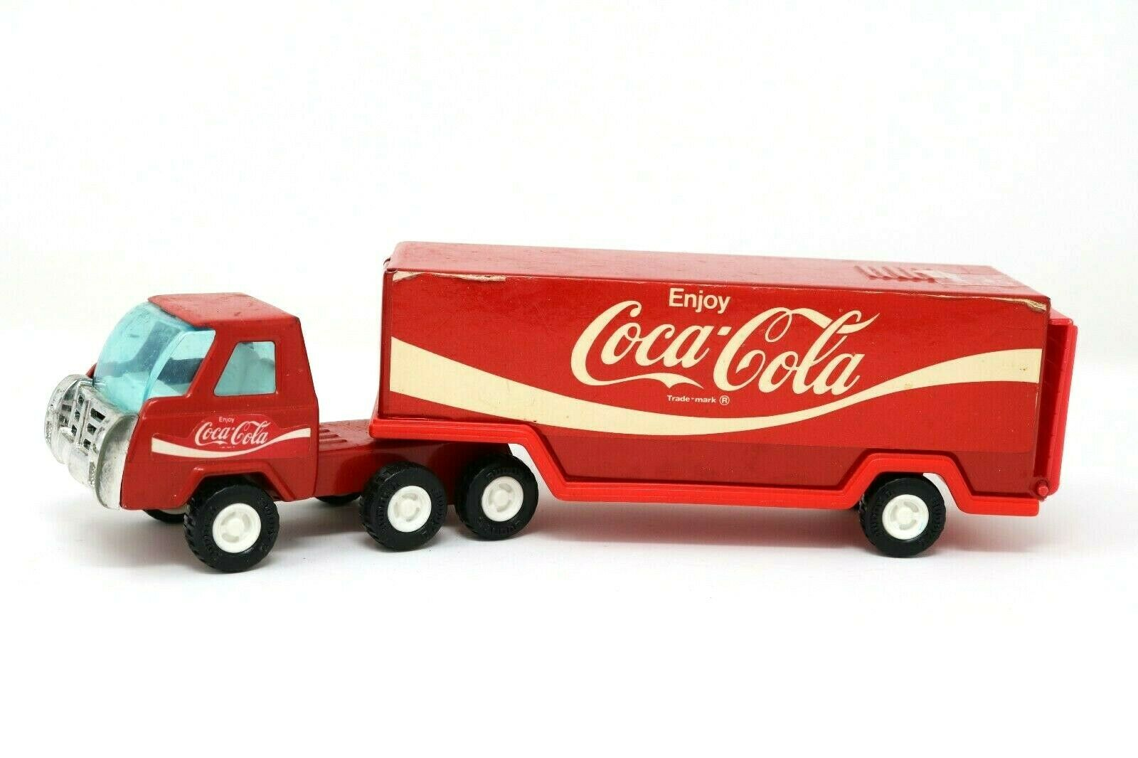Купить Buddy L - Vintage Coca-Cola Coke Metal Red Delivery Truck Buddy L Corp Made in Japan HTF