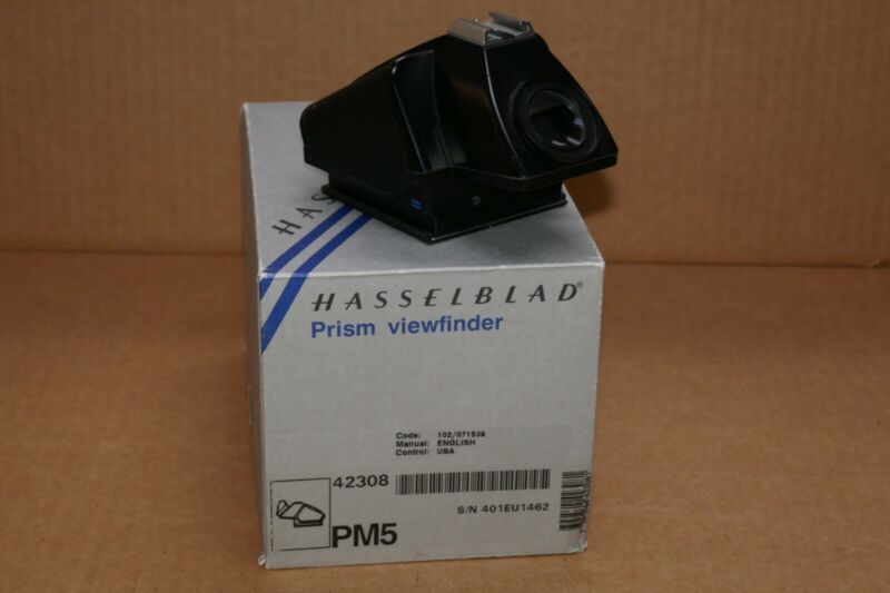 [MINT] Hasselblad PM5 Prism Viewfinder with original box.