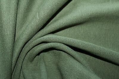 Interlock Jerseystoff Grau Meliert Muster Weicher Baumwolle Stoff Meterware