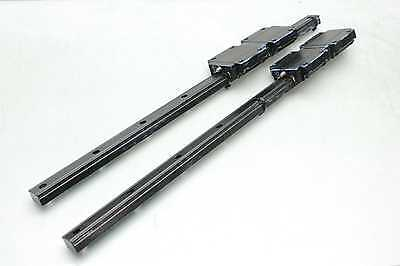 2 Thk Snr25 Linear Motion Guide Rails Linear Bearings 4 Blocks 590mm Long Ap-c
