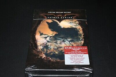 Batman Begins Limited Edition Collectable Gift Set DVD New, Sealed!