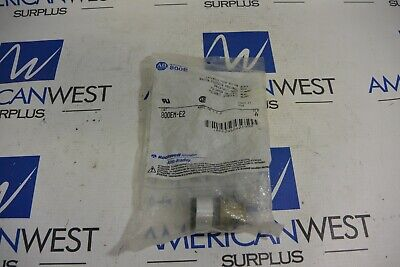 Allen Bradley 800EM-E2 Series A Extended Push Button Black