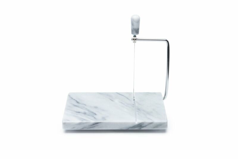 Marble Cheese Slicer, Stainless Steel Wire Cutter and Lever