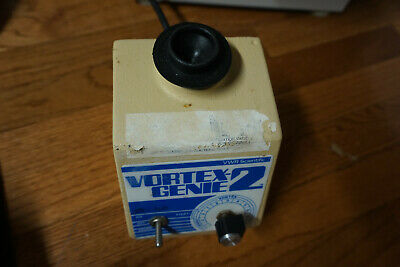 Fisher Genie 2 Vortexer Vortex Shaker Mixer Used Lab Rotator Mini Touch View Ces