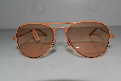 New Michael Kors Women's Aviator Orange Rachel M2061S 810 58-14-135 Sunglasses