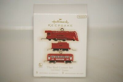 2009 Hallmark Miniature The Red Comet Lionel Set