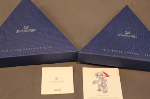 Swarovski 2013 Annual Edition Ornament Empty Presentation Box Only 5004489