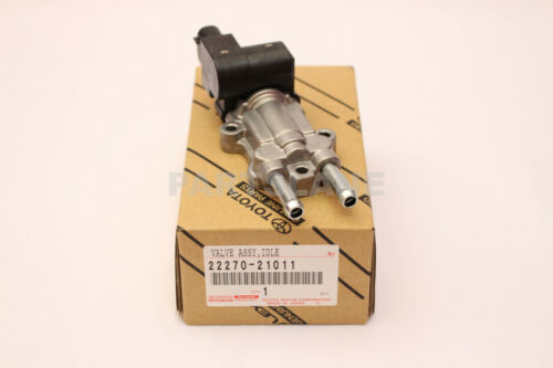 22270-21011 Toyota Oem Genuine Valve Assy, Idle Speed Control(for Thlottle Body)