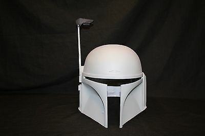 Star Wars Universe Mandalorian Bounty Hunter Jango Fett Mando Helmet Prop Kit