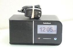 Radio Shack 1200996 Touch Screen Public Alert NOAA Radio Alarm Clock READ DESCR