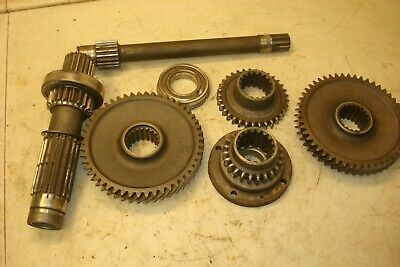 1955 Ferguson To-35 Gas Tractor Transmission Gears And Shafts