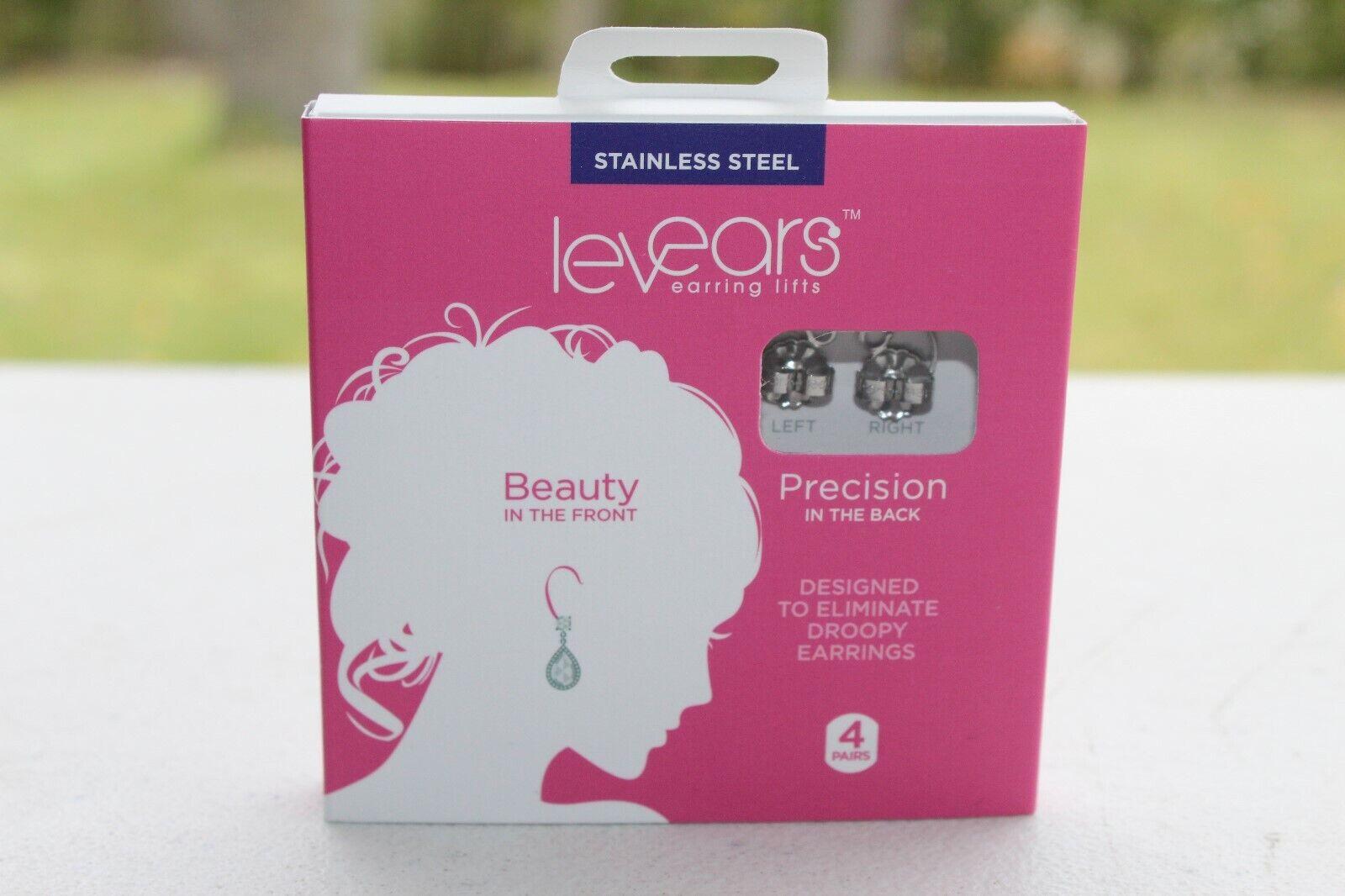 stainless steel silver earrings backs lifts